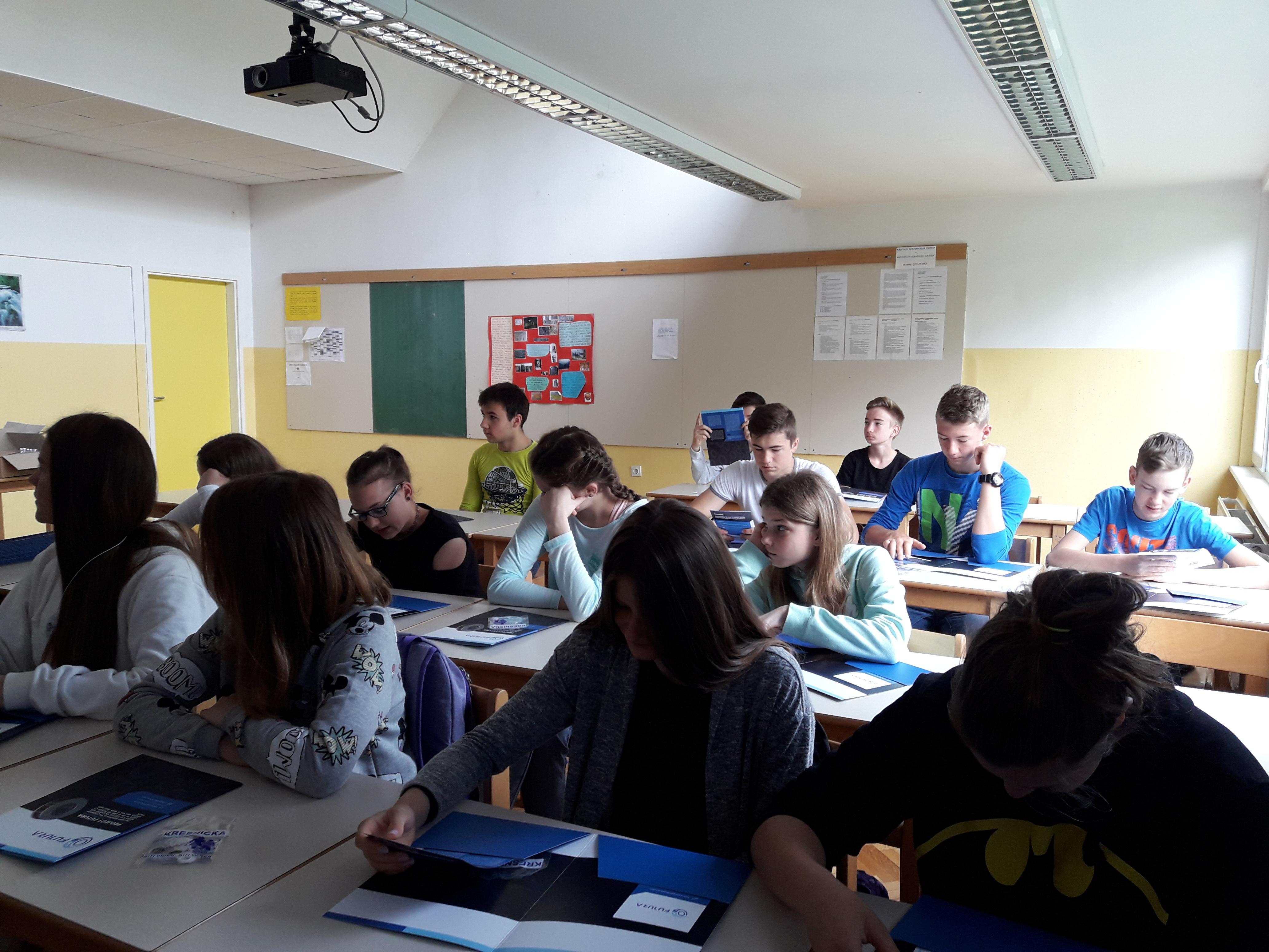 8. razred OŠ Leskovec pri Krškem